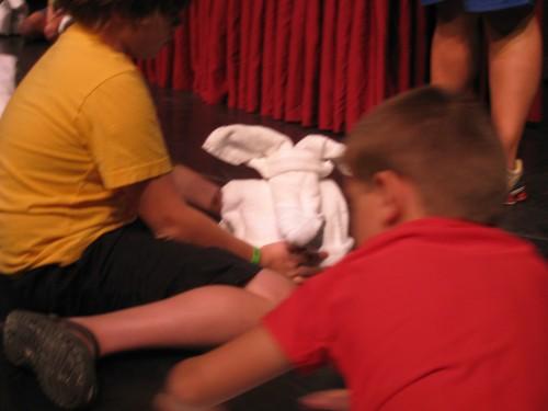 Towel making class