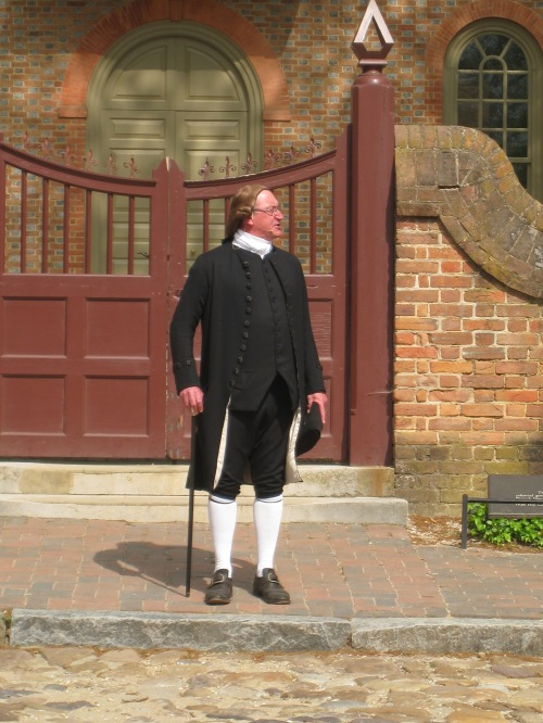 Actor in Colonial Willamsburg