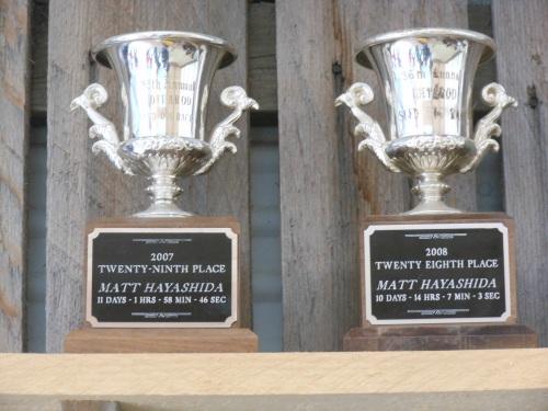 Iditarod trophies