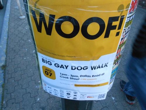 Sign in Victoria, Canada